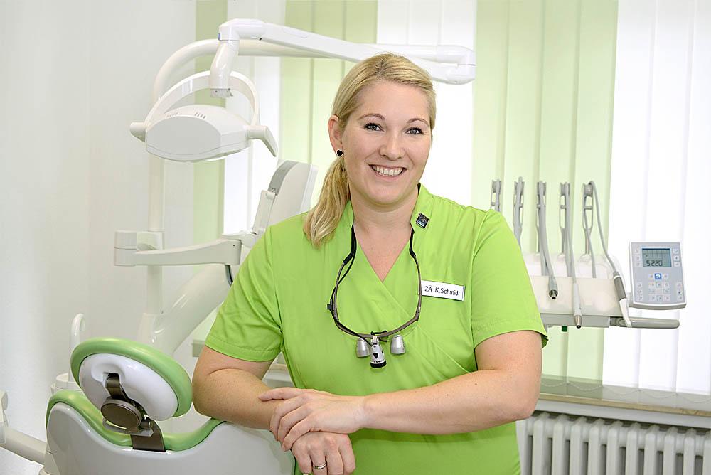 Zahnärztin Katharina Schmidt