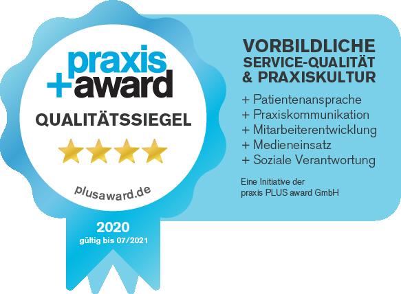 PraxisPlusAward_Qualitaetssiegel